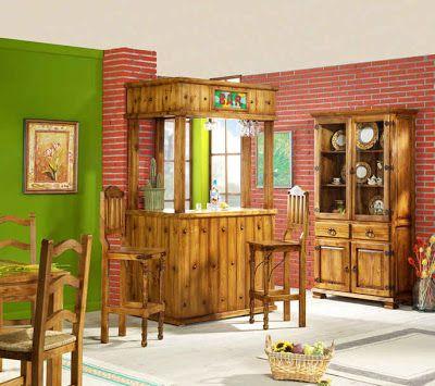 Muebles de bar for Modelos de muebles para bar