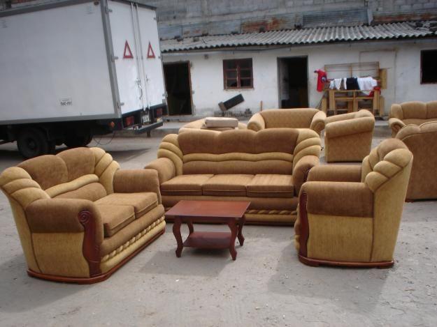 Muebles de sala de segunda for Salas de madera modernas