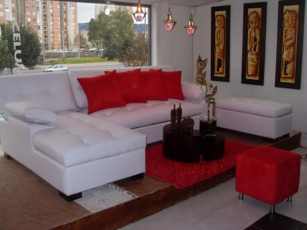Estilo muebles de sala for Muebles de sala en l modernos