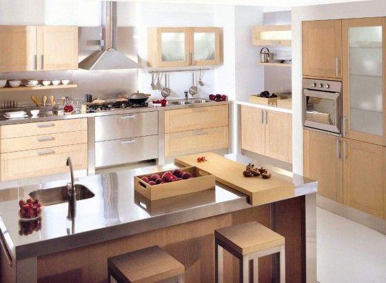 Islas para cocinas modernas