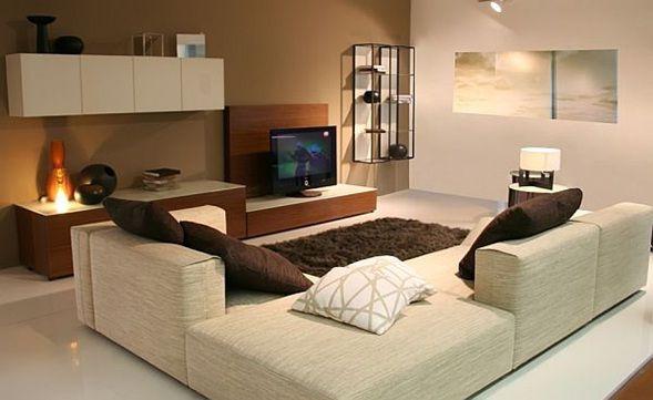 Modelo de muebles para sala