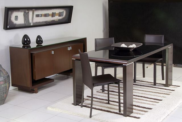 Muebles modernos de comedor for Muebles de comedor moderno