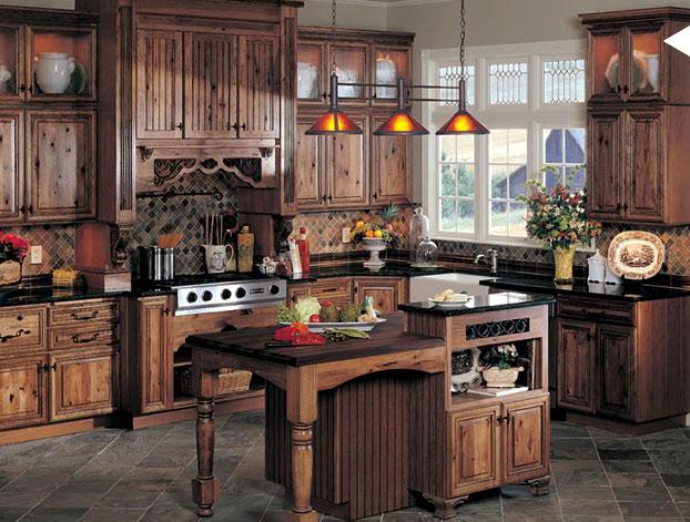 Muebles para cocinas rústicas