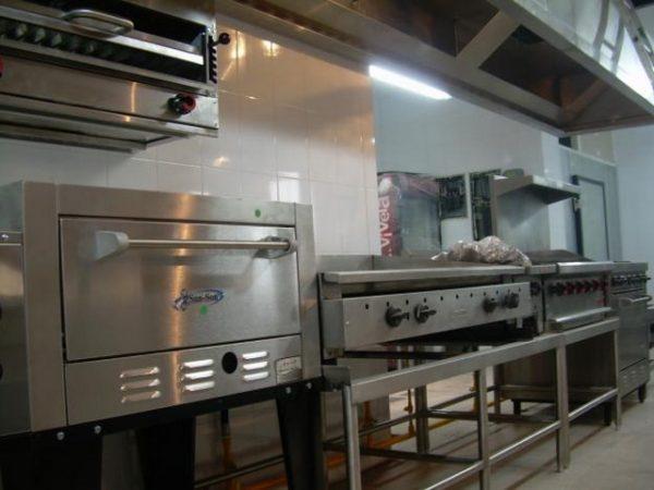 Cocinas industriales usadas for Instalacion cocina industrial