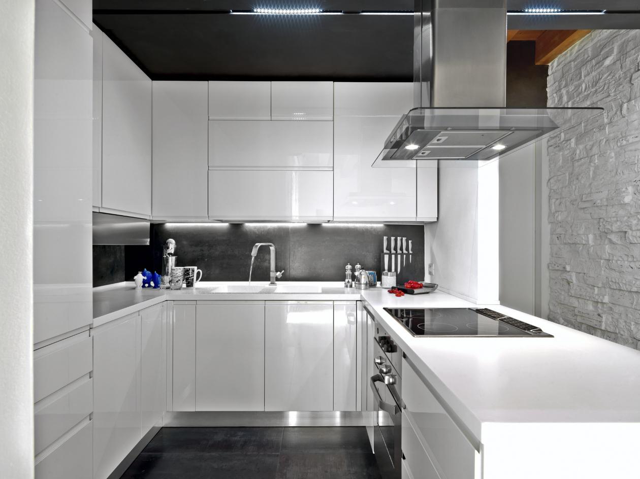 Cocinas integrales modernas para espacios peque os - Cocinas integrales ...