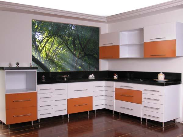Cocinas integrales modernas para espacios peque os for Cocinas integrales modernas minimalistas