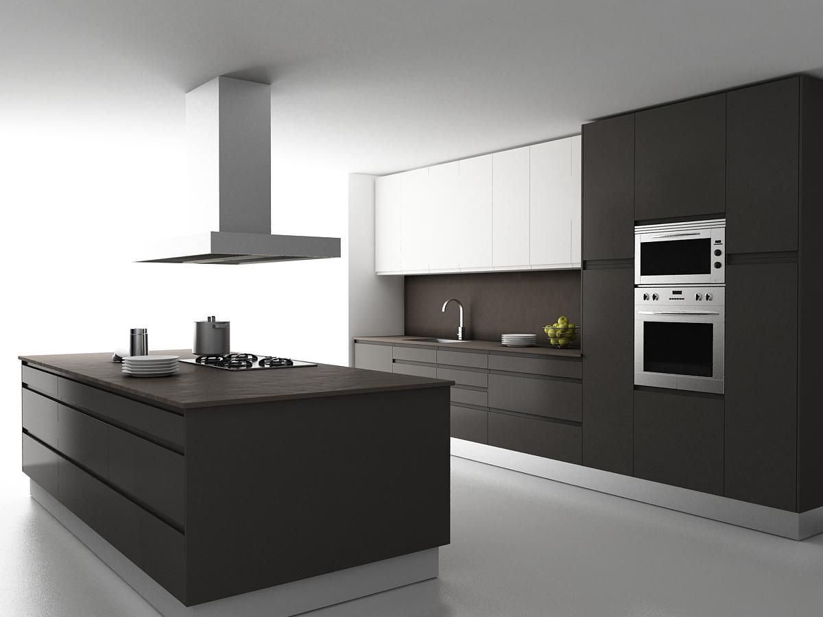 Cocinas integrales modernas para espacios peque os for Precios de cocinas modernas