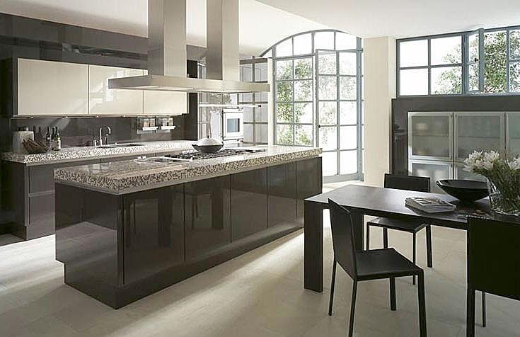Decorar una cocina alargada ideas - Cocinas espectaculares modernas ...