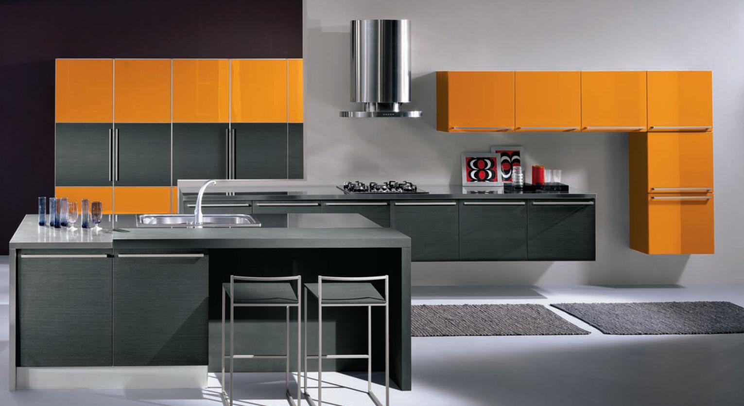 Cocinas integrales modernas para espacios peque os - Cocinas espectaculares modernas ...