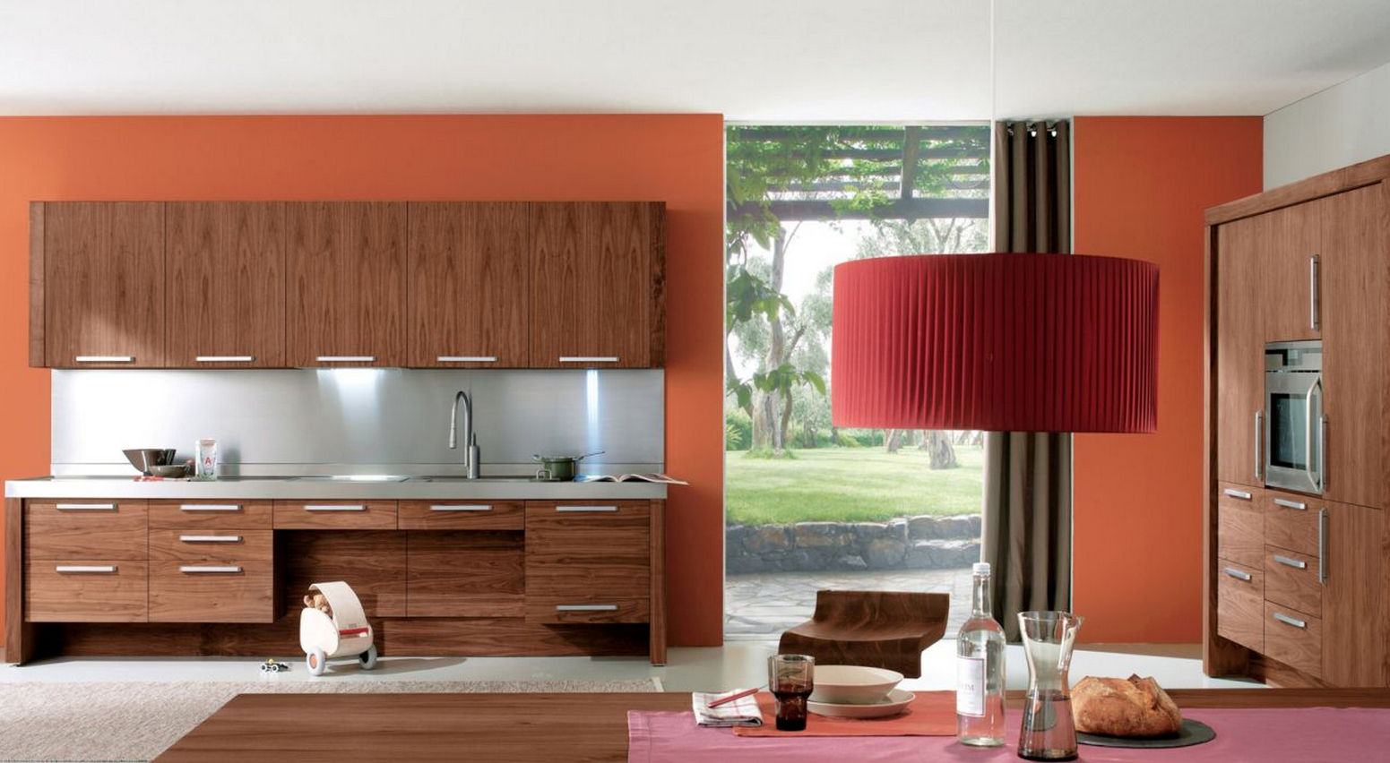 Consejos para pintar una cocina moderna for Una cocina moderna