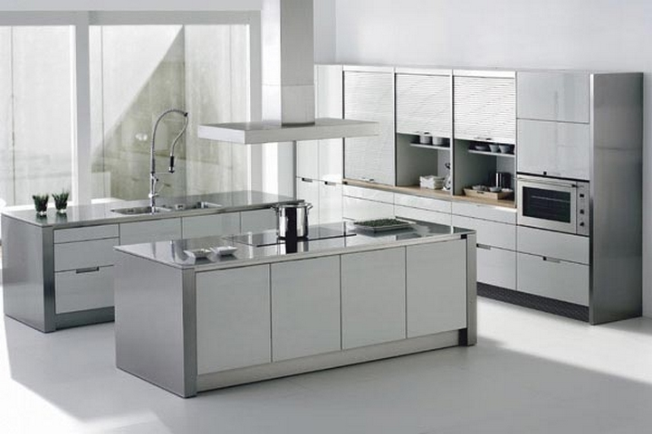 Cocinas hermosas for Modelos de cocinas modernas para espacios pequenos