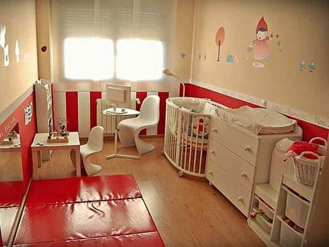 Las 10 habitaciones infantiles mejores dise adas for Habitaciones para familias