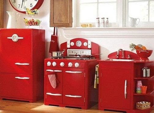 Cocinas para niños con edad mediana