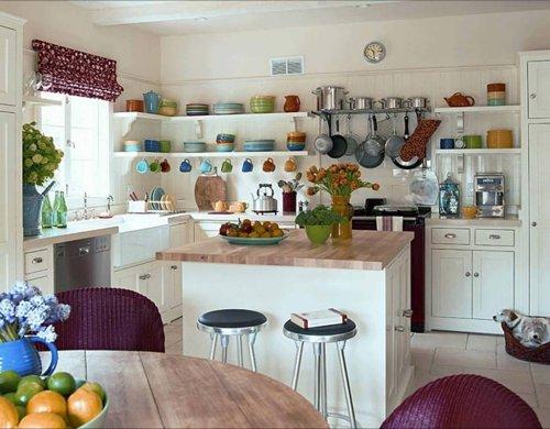 Estanterias para cocinas empotradas modernas - Ideas decoracion cocina ...