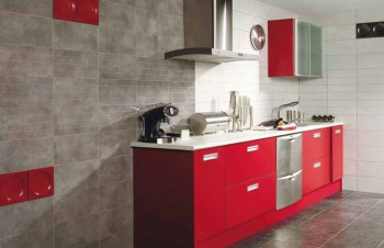 Cocinas y decoraci n de ba os con complementos - Revestimientos para cocinas ...