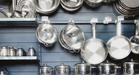 Accesorios de acero inoxidable para cocinas