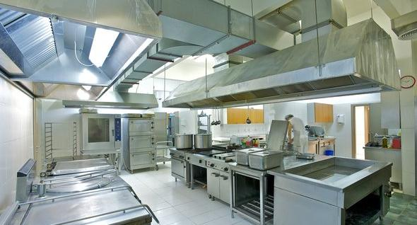 Fotos de campanas para cocinas for Extractor de cocina industrial