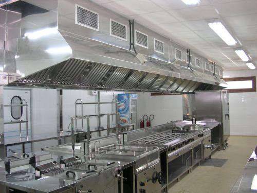Campanas para cocinas industriales
