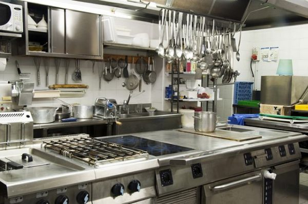 Cocinas industriales para restaurantes for Todo para cocinas industriales