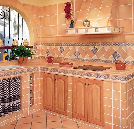 Cocinas rusticas de obra moderna - Colores para fachadas rusticas ...