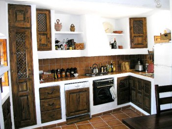 Completas Cocinas Y Alacenas De Estilo R Stico Cocinas Rusticas De