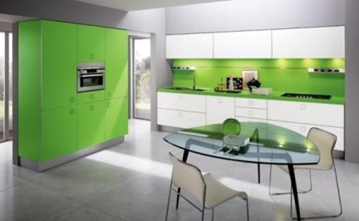 Colores para cocinas modernas
