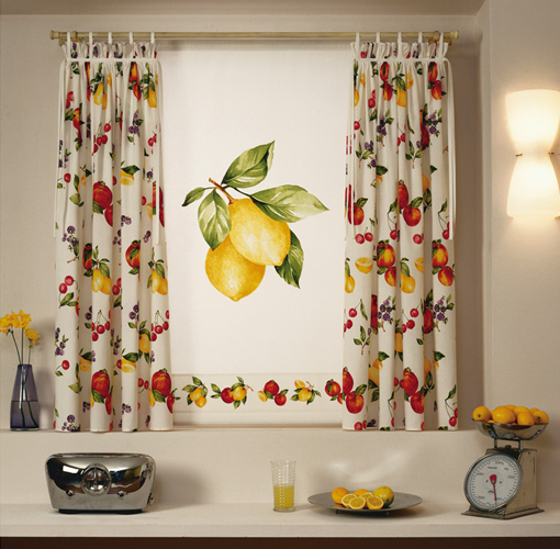 Cortinas de cocina - Ver telas de cortinas ...