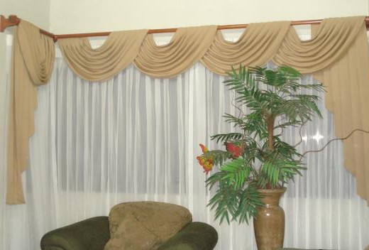 Cortinas de tela for Telas de cortinas de cocina