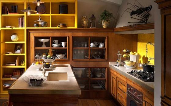 Decoración-rústica-de-cocinas-560x350