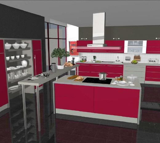Dise ador de cocinas modernas y originales - Disenador de cocinas ...