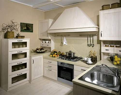 Ejemplos de cocinas integrales - Diseno de cocinas pequenas en forma de l ...