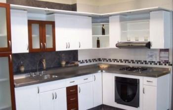 Dise os cocinas integrales 350 - Diseno de cocinas pequenas en forma de l ...