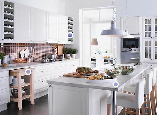 Diseno t reforma de cocinas de tama o peque o - Cocina comedor en l ...
