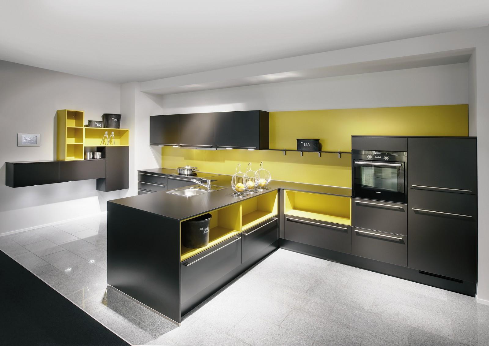 Cocinas de color amarillo - Cocinas rojas modernas ...