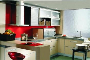 Materiales para cocinas integrales