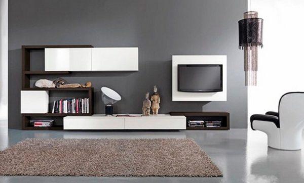 Muebles minimalistas for Disenos de muebles para tv minimalistas