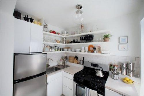 Amoblamientos de cocina - Muebles de cocina pequenas ...