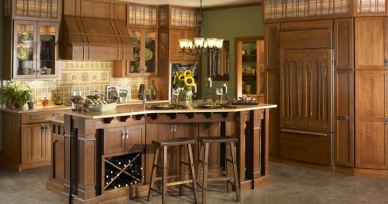 Muebles para cocinas rusticas