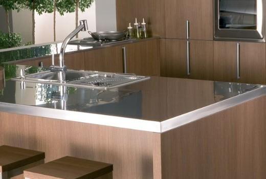 Placas de acero inoxidable para cocinas - Muebles de cocina de acero inoxidable ...