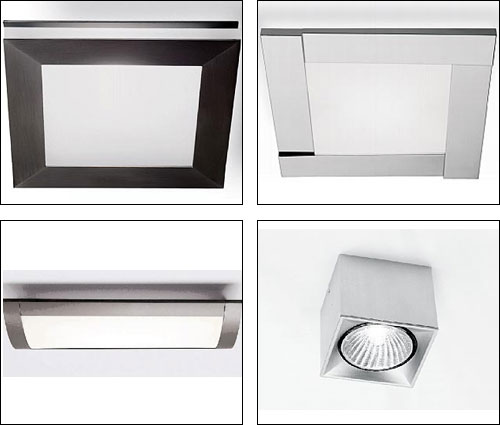 Plafones para cocinas empotradas modernas for Plafones de pared diseno