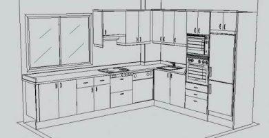 Planos de cocinas integrales