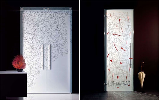 puertas de cristal para cocinas