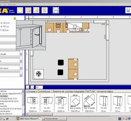 Simulador de cocinas modernas - Simulador cocinas ...