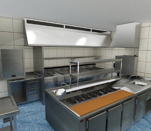 Venta y alquiler de cocinas industriales for Venta de cocinas