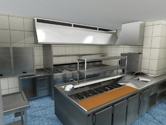 Venta y alquiler de cocinas industriales for Ver cocinas industriales