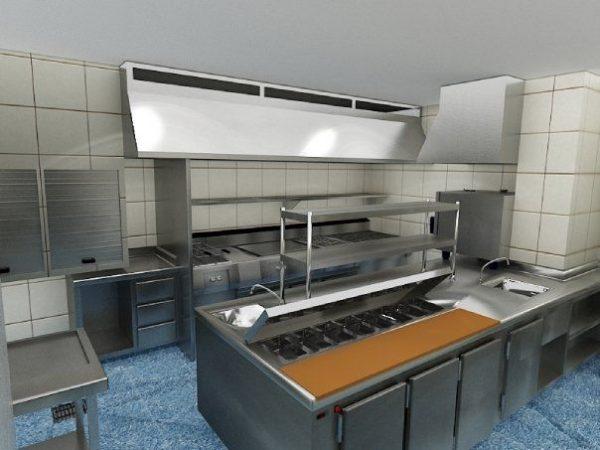 Venta de cocinas industriales