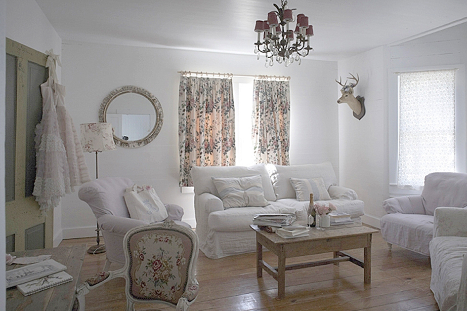 Ideas para decorar con el estilo shabby chic - Decoracion clasica de interiores ...