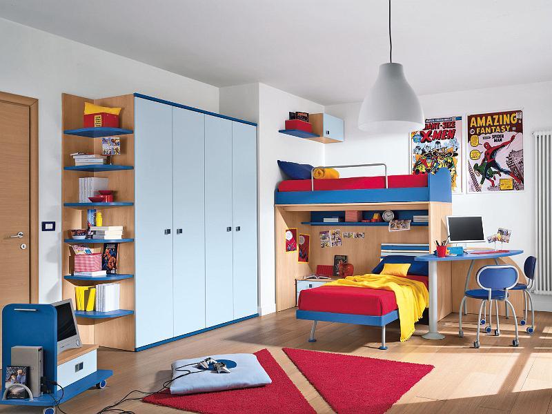 Decorando un dormitorio juvenil - Dormitorios infantiles dobles ...