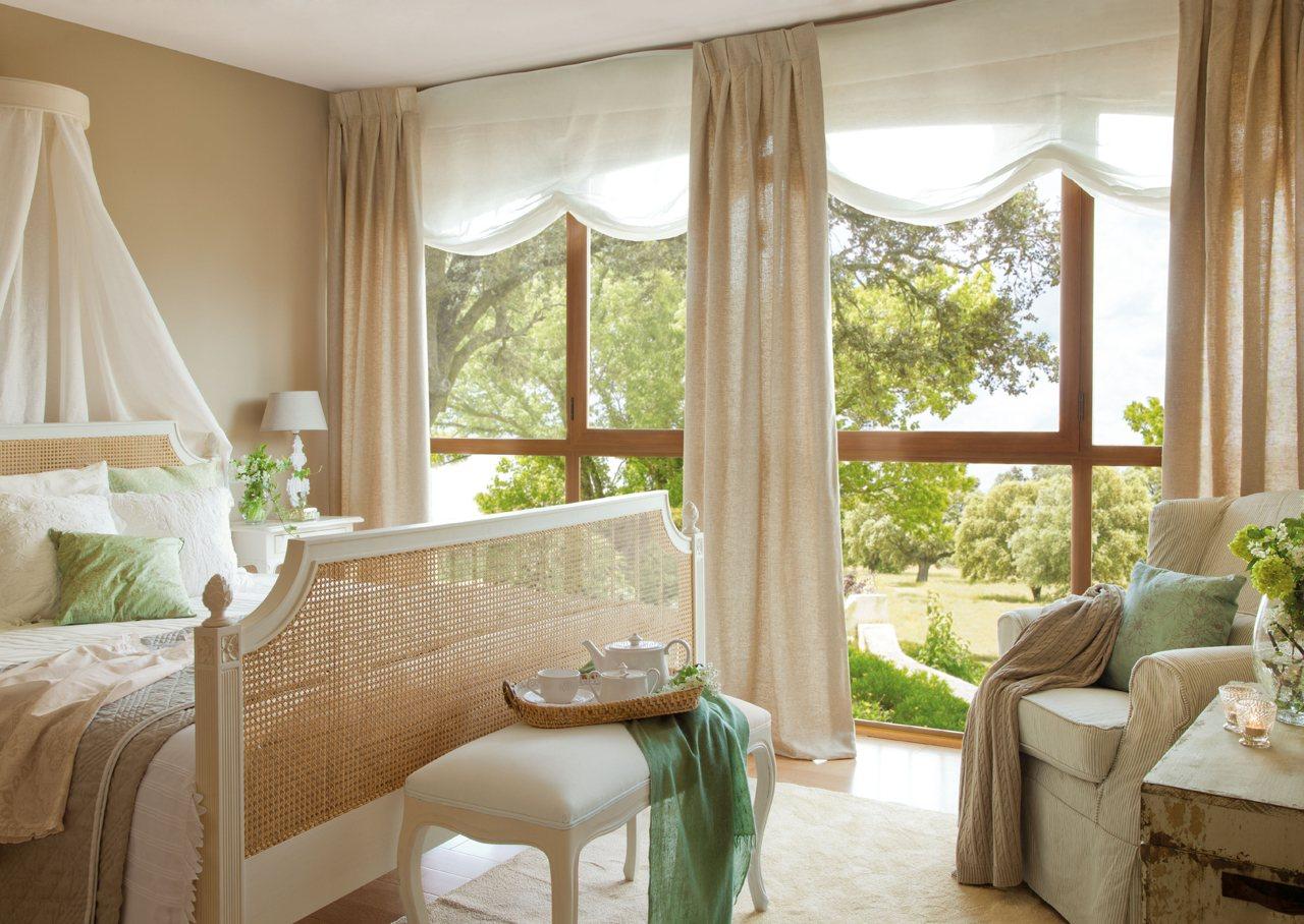 Dormitorios romanticos - Camas estilo romantico ...
