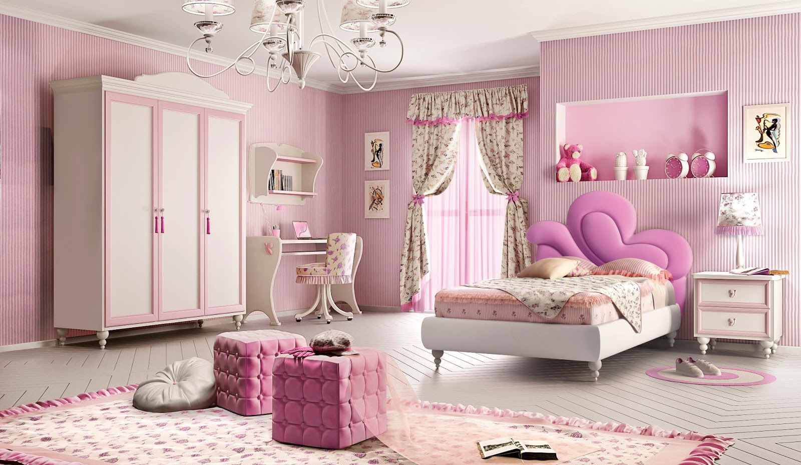 Dormitorios con el estilo princesa for Dormitorios para ninas quito